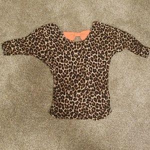 Rue21 leopard print shirt